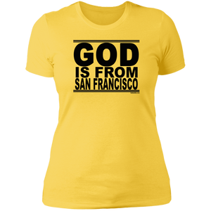 #GodIsFromSanFrancisco - Women's Shortsleeve Tee
