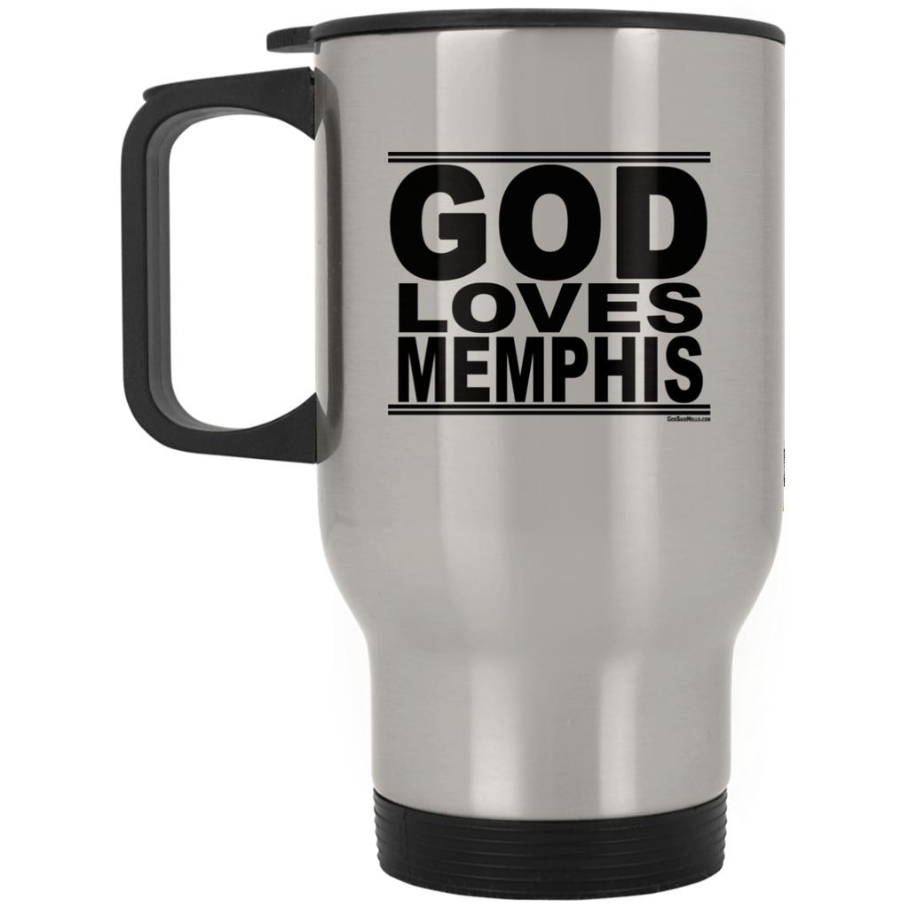 #GodLovesMemphis - Stainless Steel Travel Mug