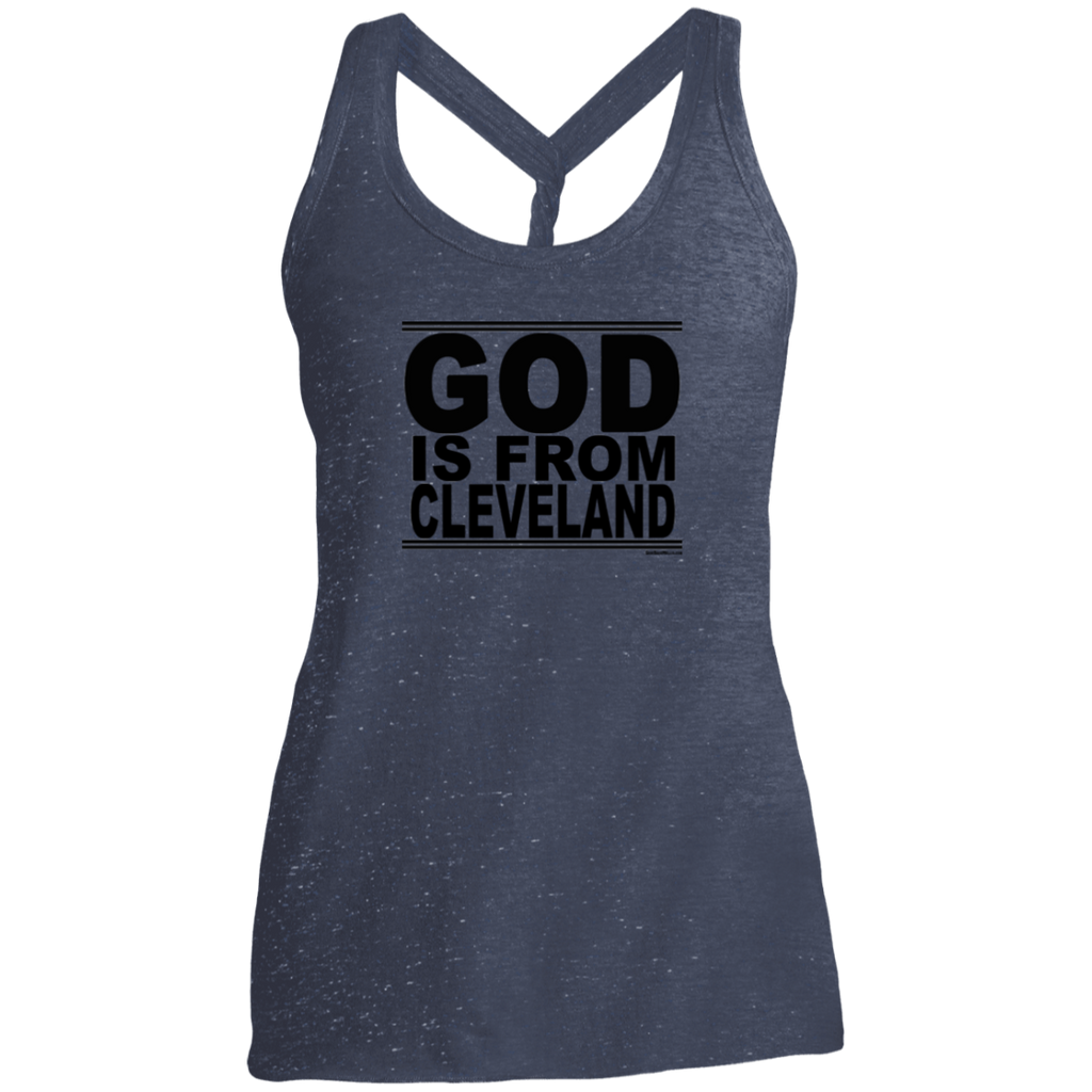 #GodIsFromCleveland - Women's Twist Back Tank Top