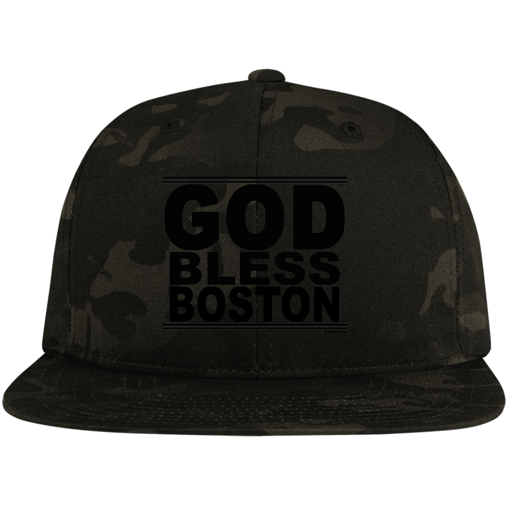 #GodBlessBoston - Snapback Hat