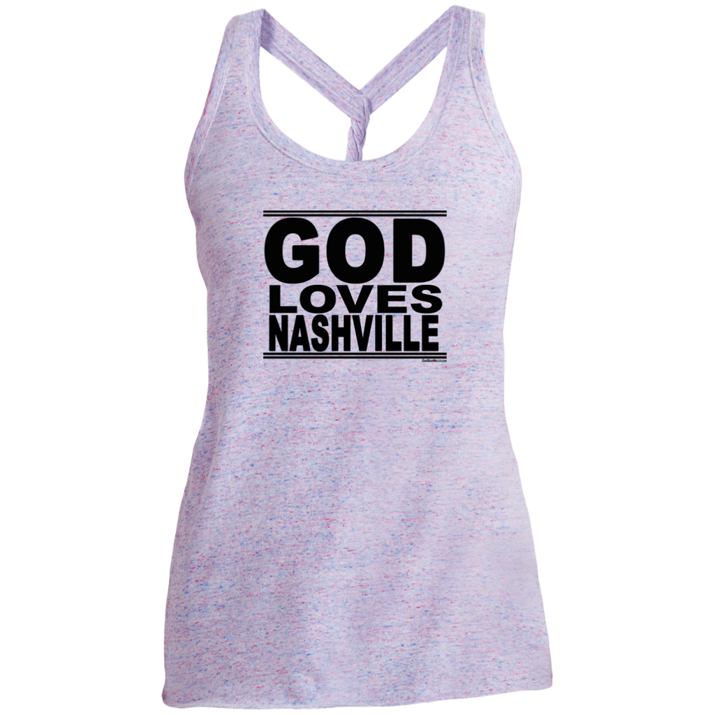 #GodLovesNashville - Women's Twist Back Tank Top