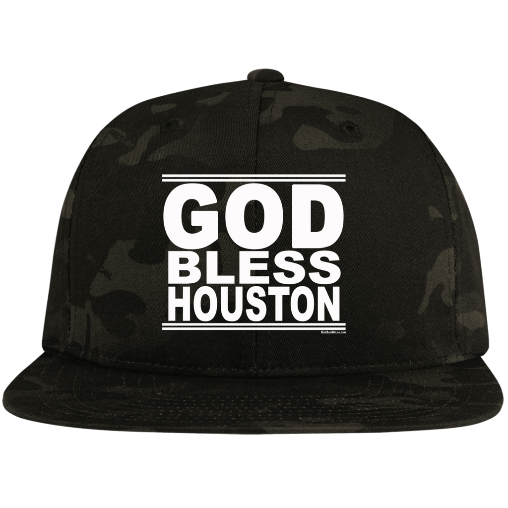 #GodBlessHouston - Snapback Hat