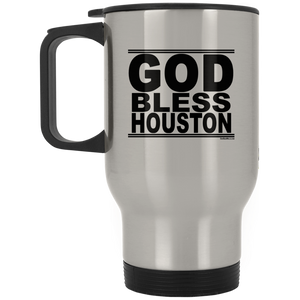 #GodBlessHouston - Stainless Steel Travel Mug