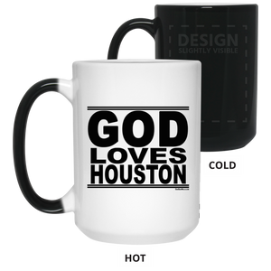 #GodLovesHouston - Color Changing Mug