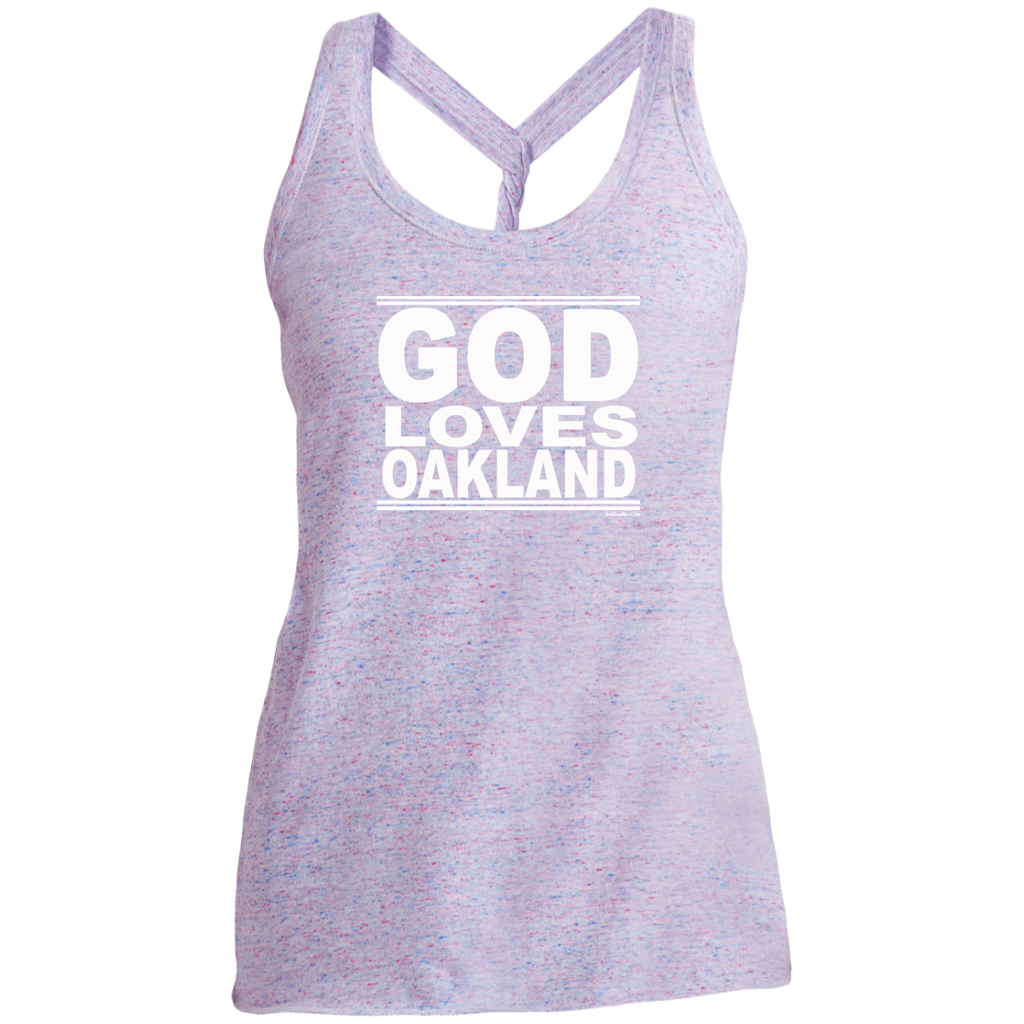 #GodLovesOakland - Women's Twist Back Tank Top