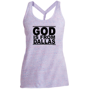 #GodIsFromDallas - Women's Twist Back Tank Top