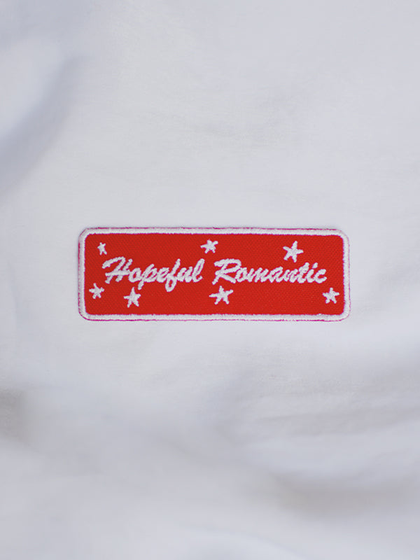 HOPEFUL ROMANTIC BADGE