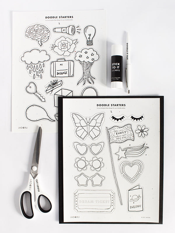 THE DOODLE JOURNEY COURSE + KIT