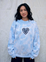 TRANSFORMED SWEATER IN SKY BLUE