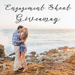 Engagement Shoot Giveaway!