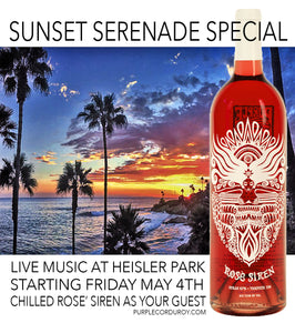 Sunset Serenade Special!