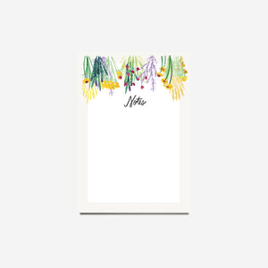 Hanging Herb Notepad