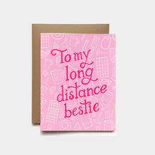 Long Distance Bestie Card