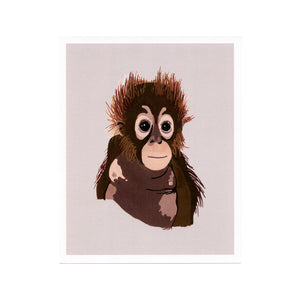 Orangutan (The Survivor) Print
