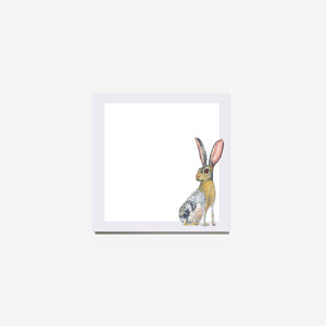 Square Rabbit Notepad