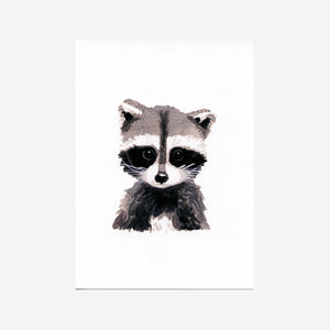 Baby Racoon Print