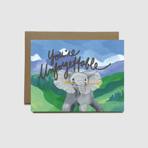 You're Unforgettable Card