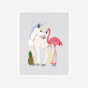 The Magical Three (Unicorn) Print