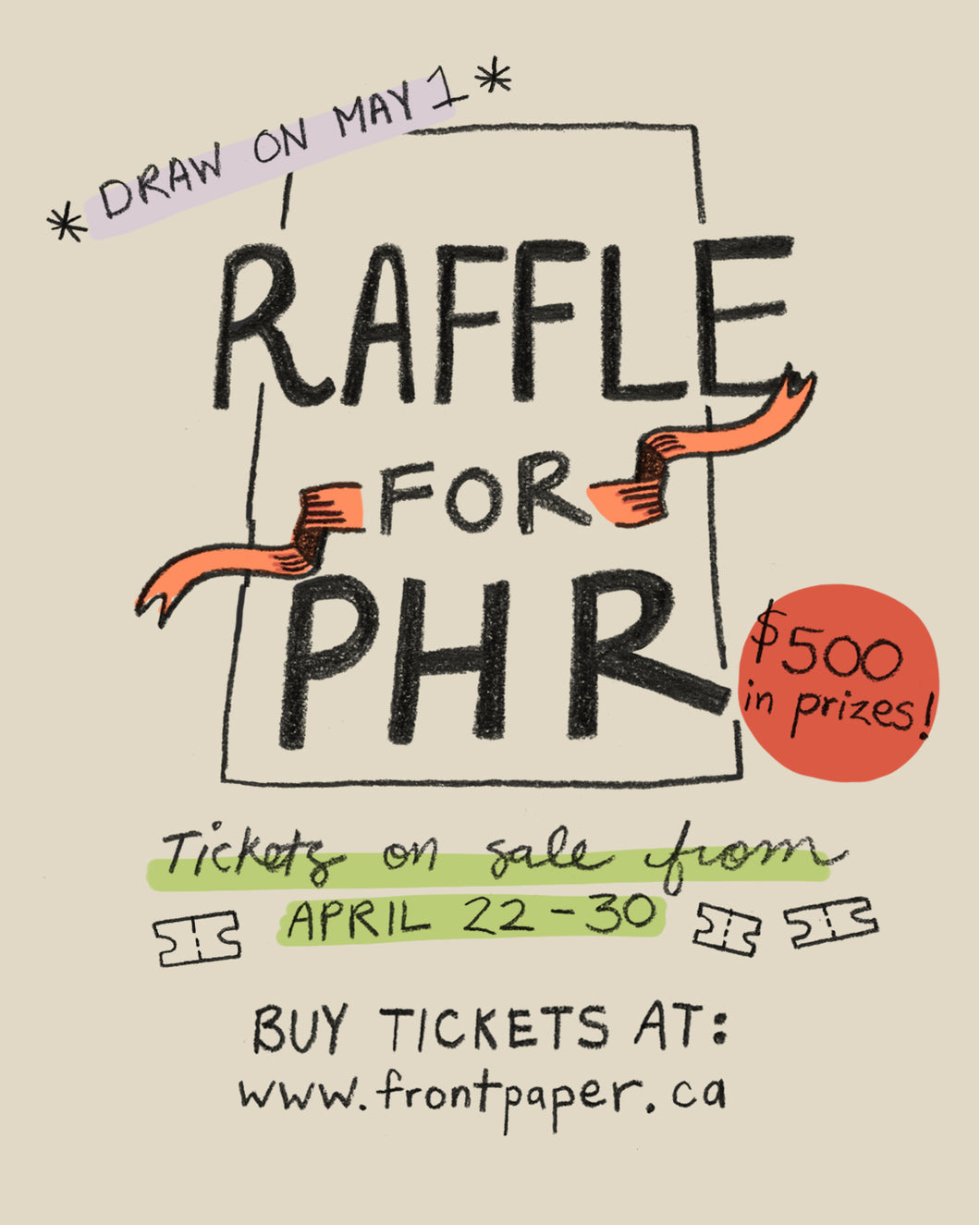 PHR Raffle Tickets