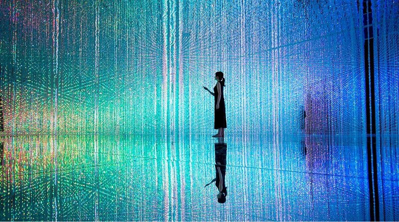 How to Make a TeamLab-Style Light Show Using E.P. Light LED Bulbs in Your Room