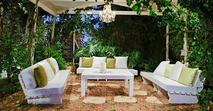 Indoor and Outdoor Chandeliers on a Budget