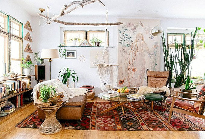 10 Bohemian Home Decor Ideas & Designs