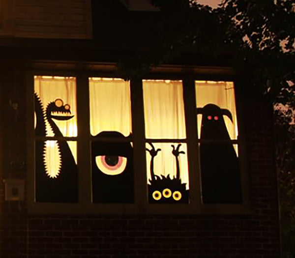 Monster Mashup Halloween decoration