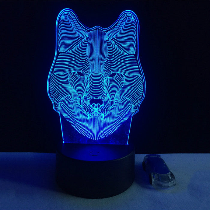 Rocket Ship In Space LED Light Personalized FREE Kids LED Night Lamp w// Remote