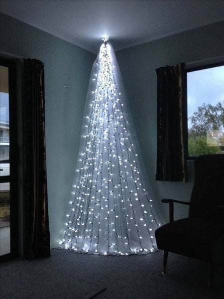 DIY indoor Christmas tree