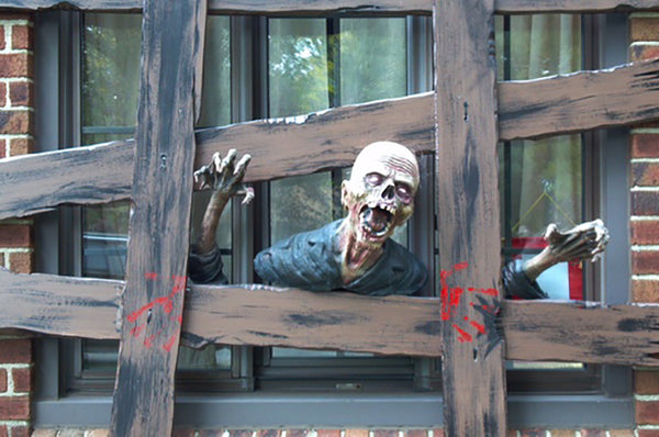 zombie halloween decoration