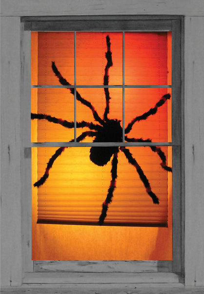 spider window decoration