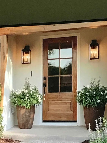 Front Porch lamps