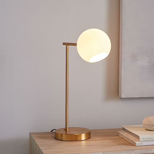 table lamp with warm light