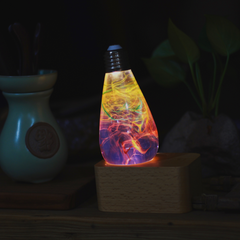 nebula lamp in LED BASE