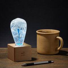 Blue Drop Lamp