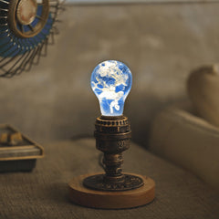 EP LIGHT LED Bulb, Holiday Gifts - Blue Hydrangea