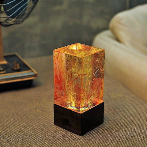 resin table decor art lamps night light