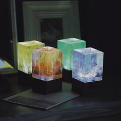 Resin table decor - Solar