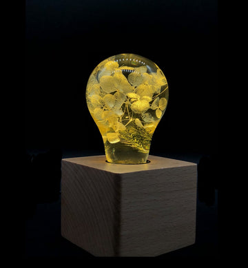 EP LIGHT LED Lights, Unique Gifts - Yellow Hydrangea