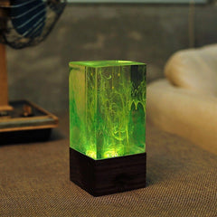 Resin table decor - Aurora