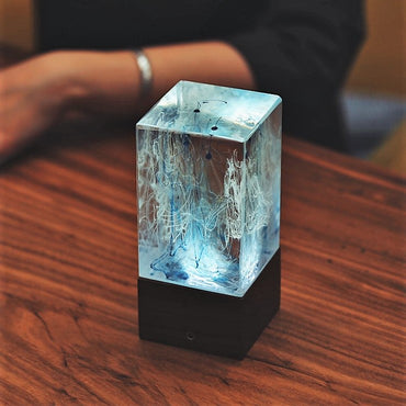 Resin table decor - Ambient night light