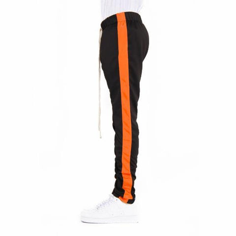 EPTM Techno Track Pants | Black/Orange