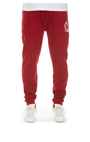 BILLIONAIRE BOYS CLUB Comfy Sweatpant | Biking Red