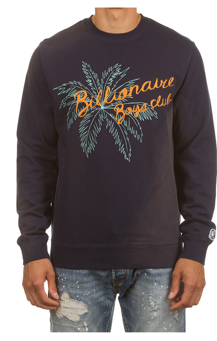 BILLIONAIRE BOYS CLUB Topia Crew | Navy - Capsule NYC