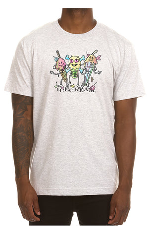 ICECREAM Social Tee| Light Heather