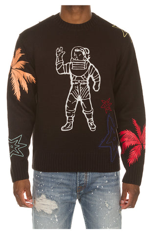 BILLIONAIRE BOYS CLUB Astro Sweater | Black