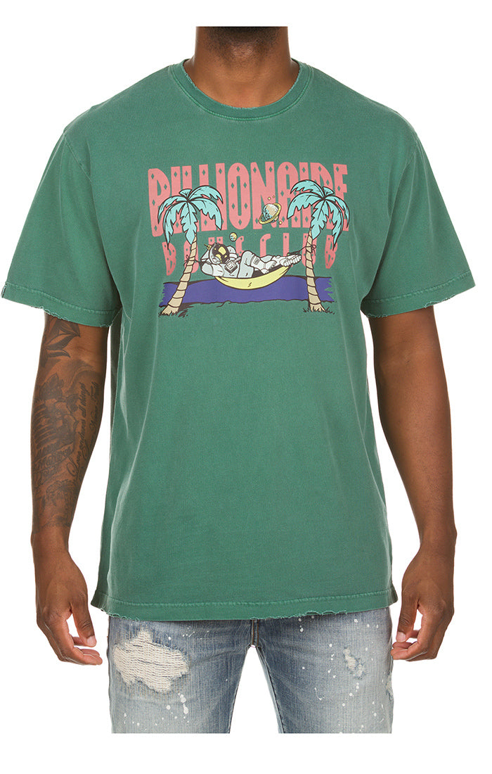 Copy of BILLIONAIRE BOYS CLUB Vacay Tee | Deep Sea Coral - Capsule NYC
