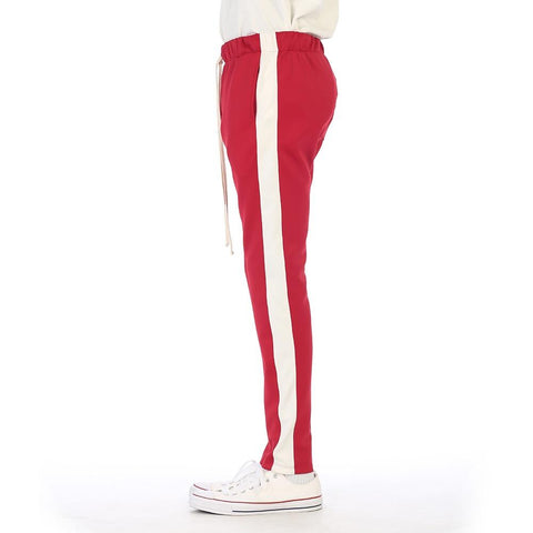 EPTM Techno Track Pants | Red/White