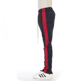 EPTM Techno Track Pants | Black/Red
