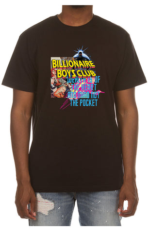 BILLIONAIRE BOYS CLUB Collage Tee | Black